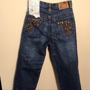Fubu jeans NWT size 14; historic hiphop fashion